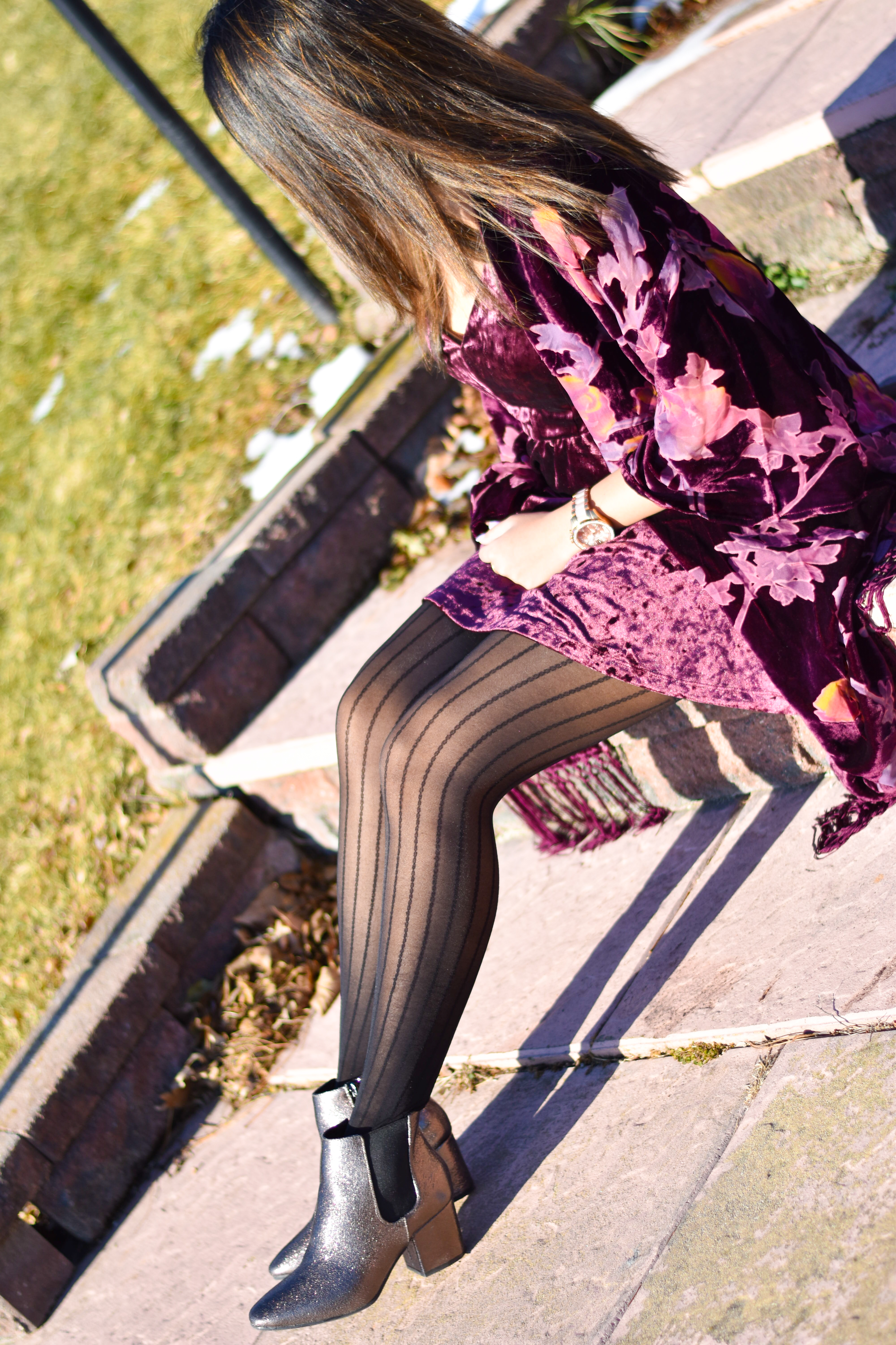 0e0bb5d0da I recently collaborated with Scatto Clothing and received this Velvet  Kimono Cardigan. I love the fact that it is floral and I can add a little  color to any ...