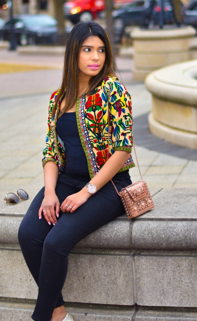 Shein colorful jacket